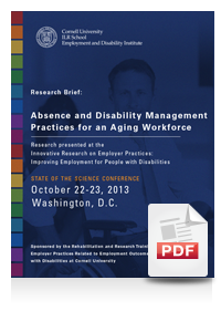 Absence and Disability Management Practices for an Aging Workforce